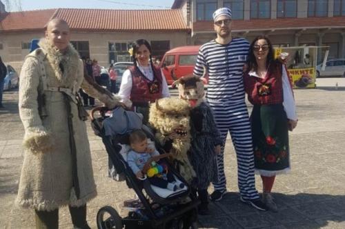 Сирни Заговезни - Кукери гонят злите сили в с.Караджалово