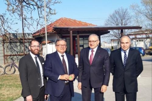 Министри от Ливан на визита в град Първомай