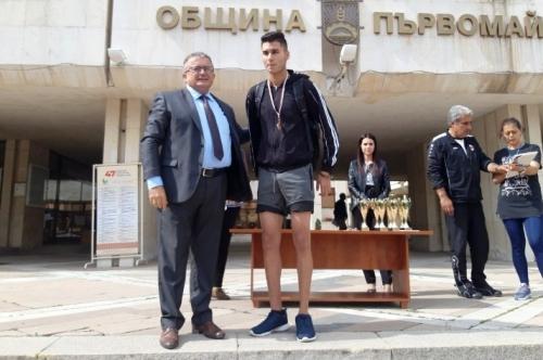Лекоатлетическо състезание организирано от Община Първомай