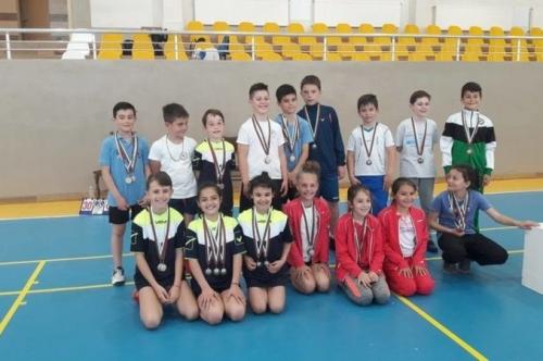 """Спортистите от КФВС """"Атлет"""" с много медали от шампионата в Гълъбово"""
