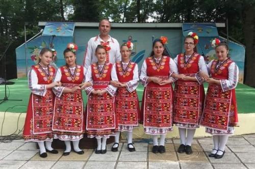 """Детска фолклорна група ,,Дебърче"""" с две награди от   VIII Международен фестивал ,,Атлиманска огърлица – 2019"""""""