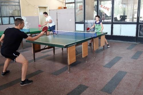 Турнир по тенис на маса