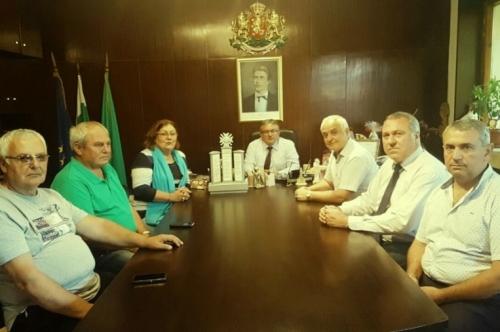 Кметът посрещна заместник-министъра на отбраната