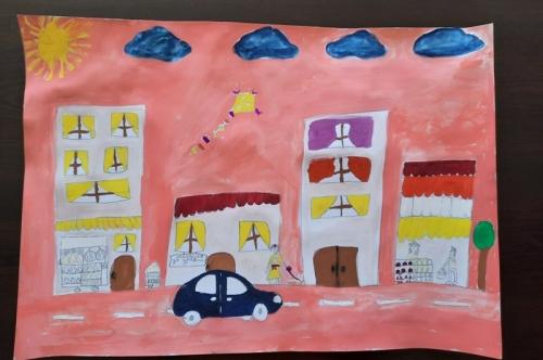 """Тридесет творби участват в конкурса на тема ,,Аз рисувам моя град"""""""