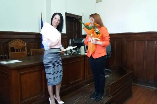 16.04.2019г. - Ден на отворените врати в Районен съд гр.Първомай